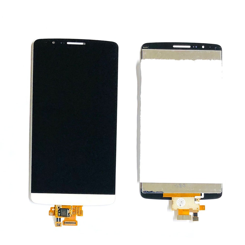 LCD Screen Touch Digitizer With Out Frame For LG G3 (White)