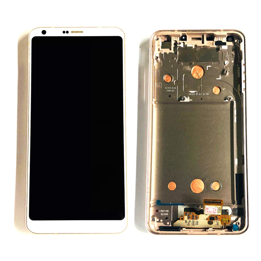 LCD Screen Touch Digitizer With Frame For LG G6 (Gold)