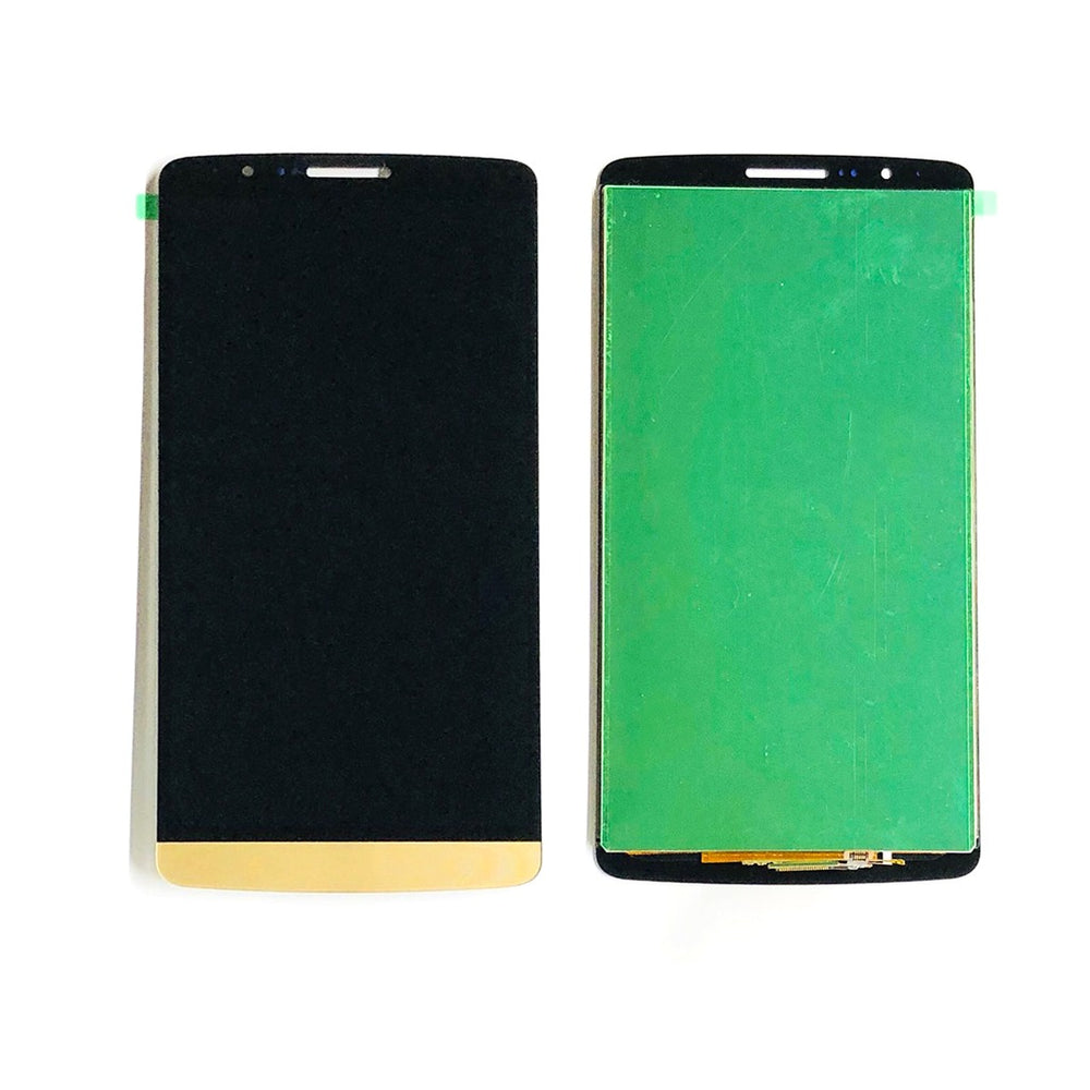LCD Screen Touch Digitizer With Out Frame For LG G3 (Gold)