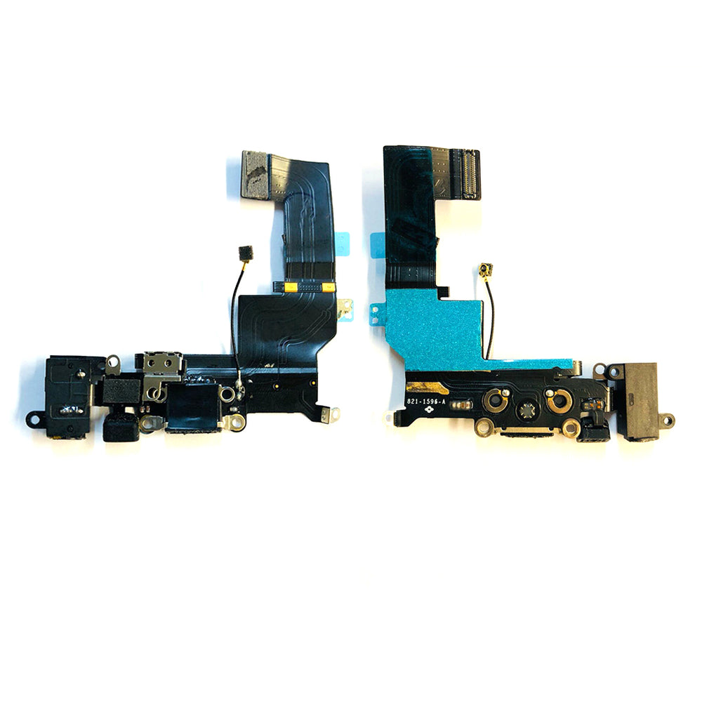 Charging Port Flex Cable For Iphone SE (Black)