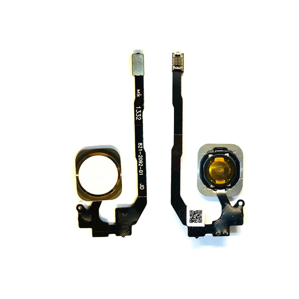 Home Button Flex Cable For Iphone 5S / SE (Gold)