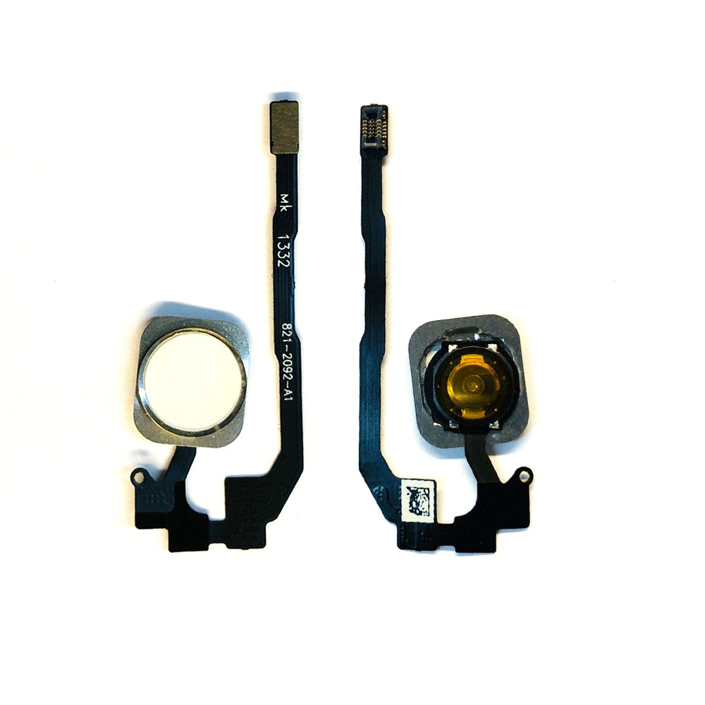 Home Button Flex Cable For Iphone 5S / SE (Silver)