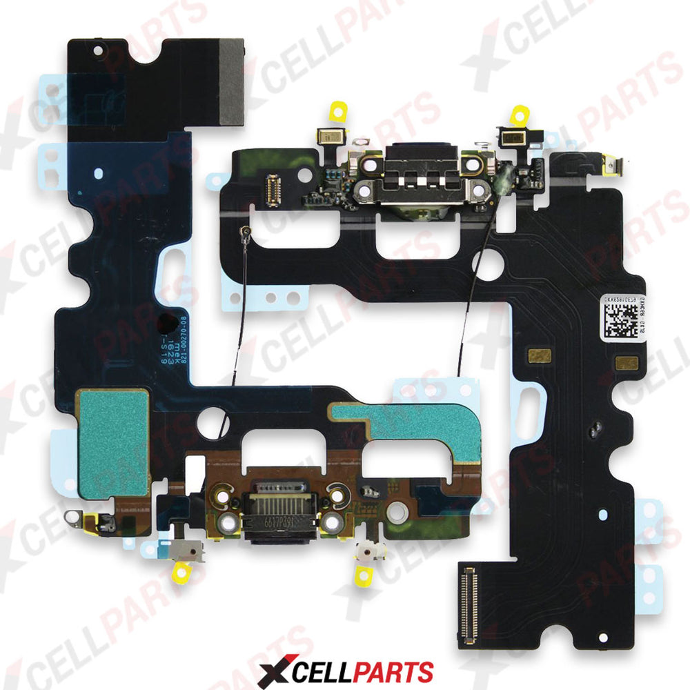 Charging Port Flex Cable For Iphone 7 Plus (Black)