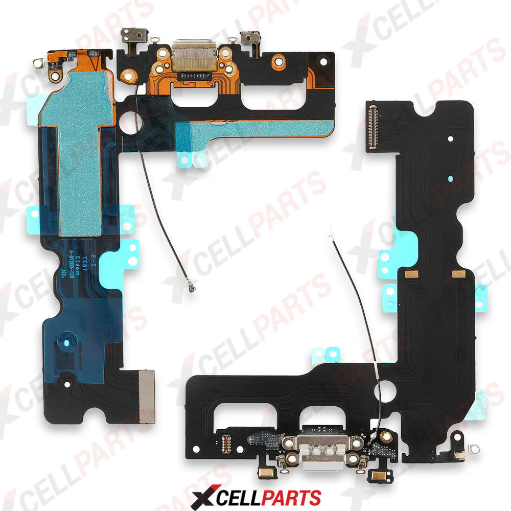 Charging Port Flex Cable For Iphone 7 Plus (White)