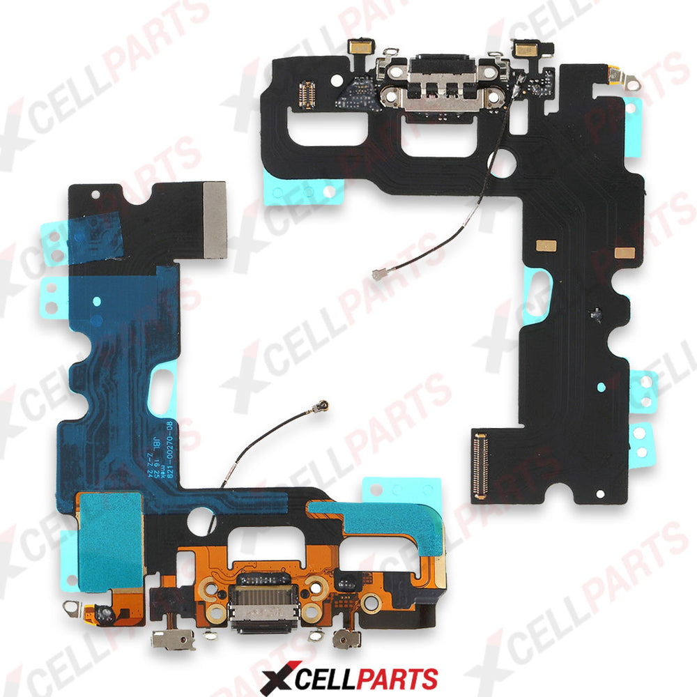 Charging Port Flex Cable For Iphone 7 (Black)
