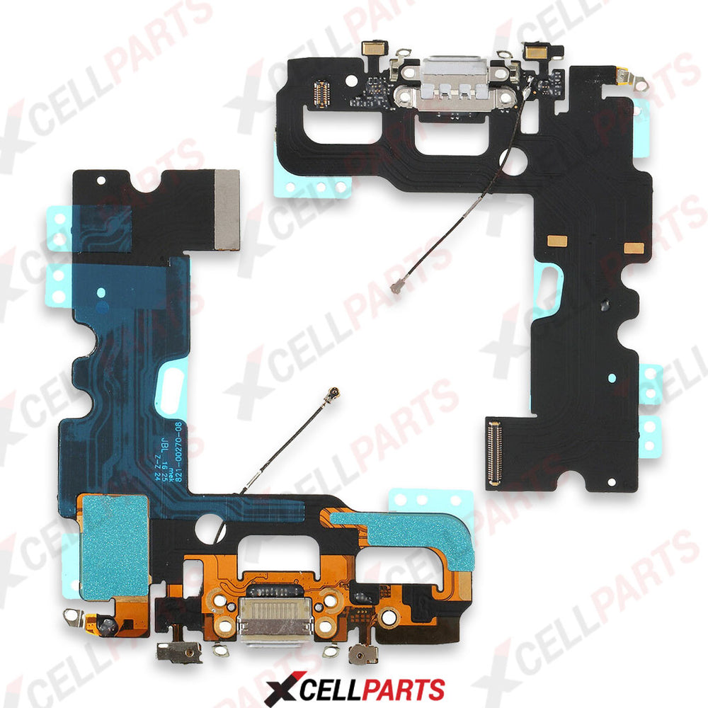 Charging Port Flex Cable For Iphone 7 (White)