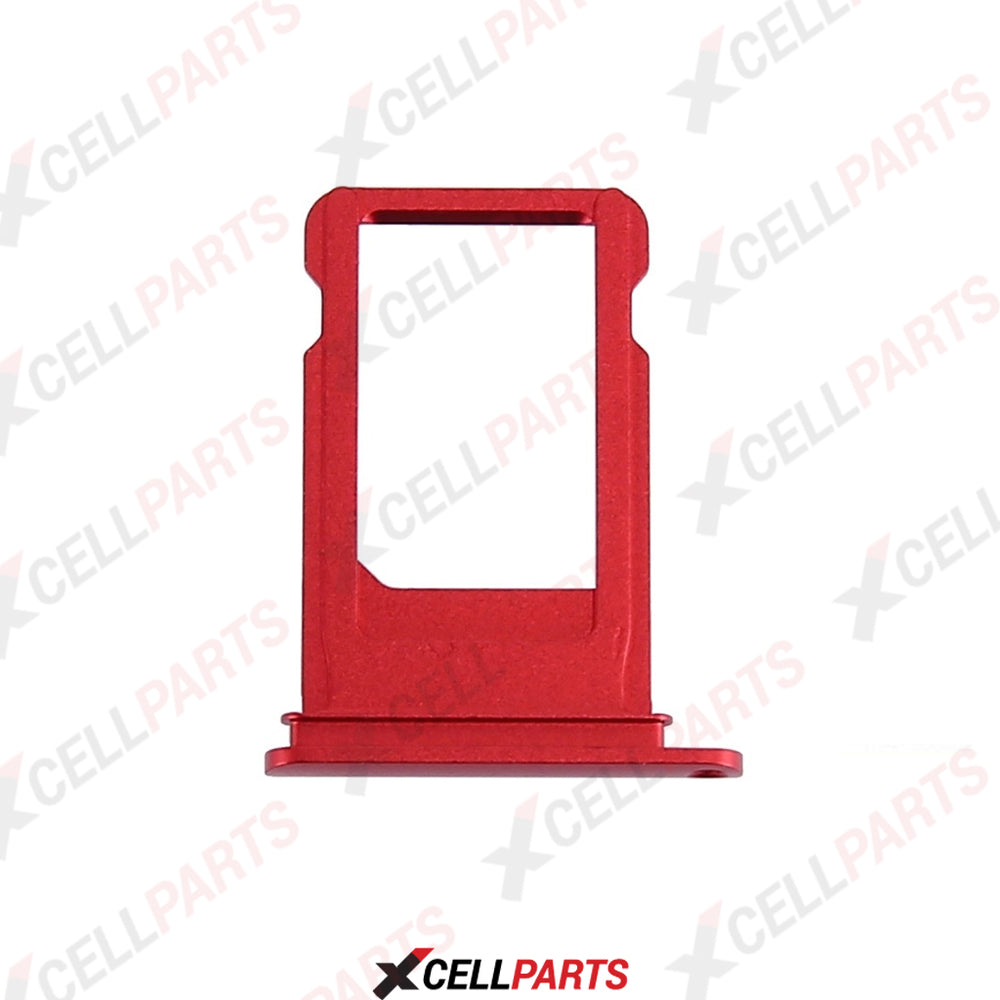 Sim Tray For iPhone 7 Plus (Red)