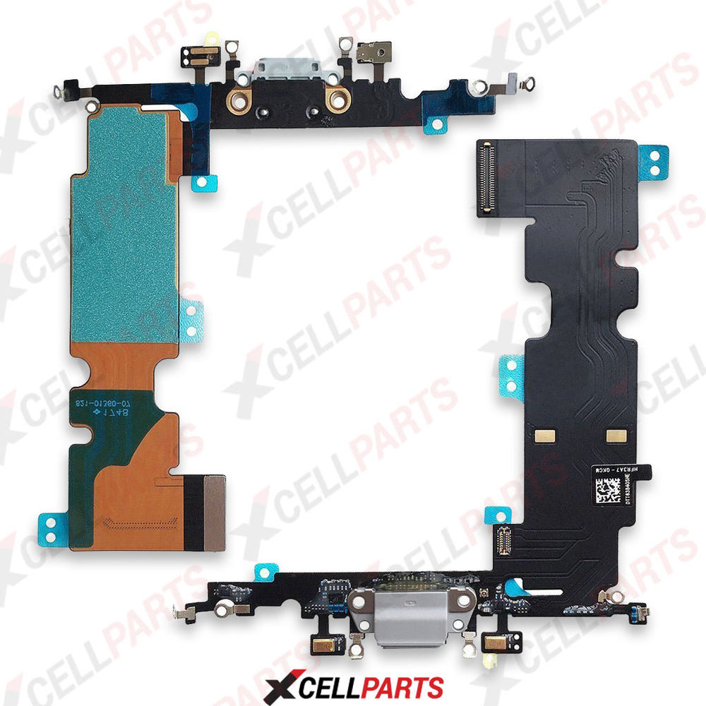 Charging Port Flex Cable For Iphone 8 (White)