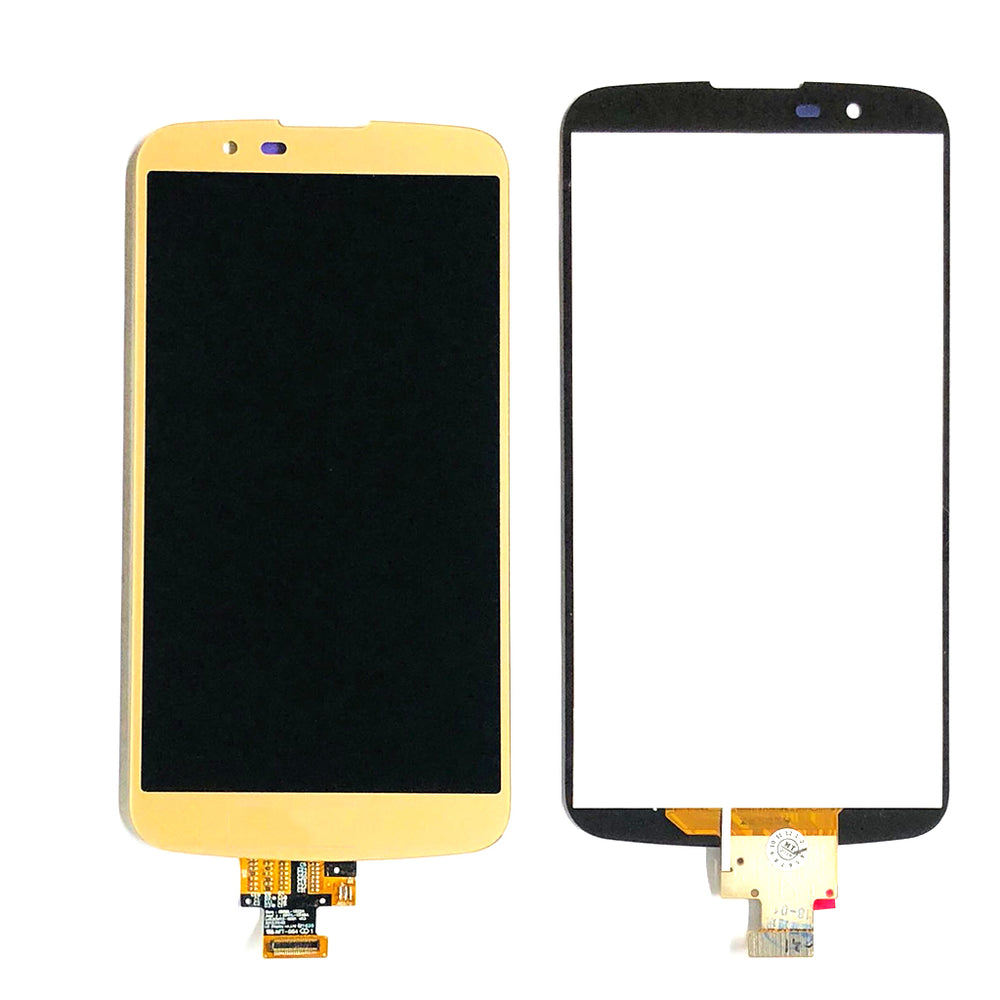 LCD Screen Touch Digitizer With Out Frame For LG K10 (K410) (Gold)