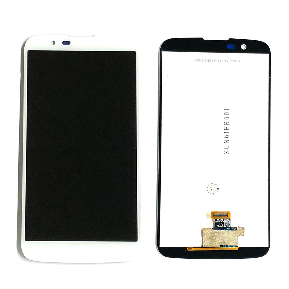 LCD Screen Touch Digitizer With Out Frame For LG K10 (K410) (White)