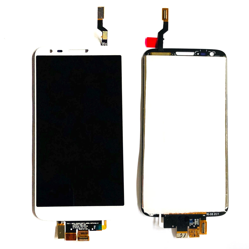 LCD Screen Touch Digitizer With Out Frame For LG G2 (White)