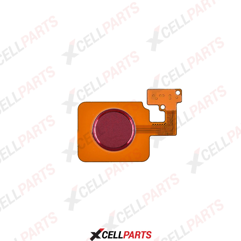 XP-LG V40 HOME BUTTON FLEX CABLE (RED)
