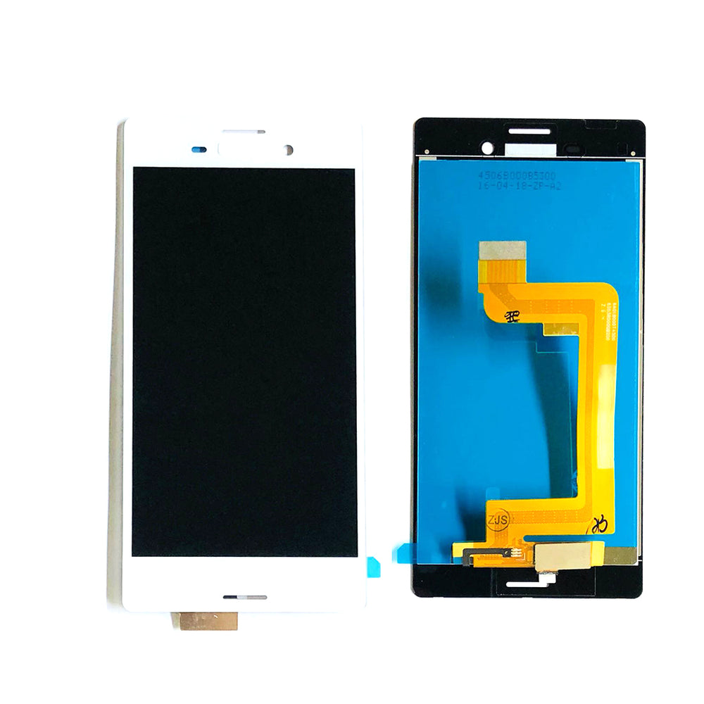 LCD Screen Touch Digitizer With Out Frame For Sony Xperia M4 Aqua (2306-53-63) (White)