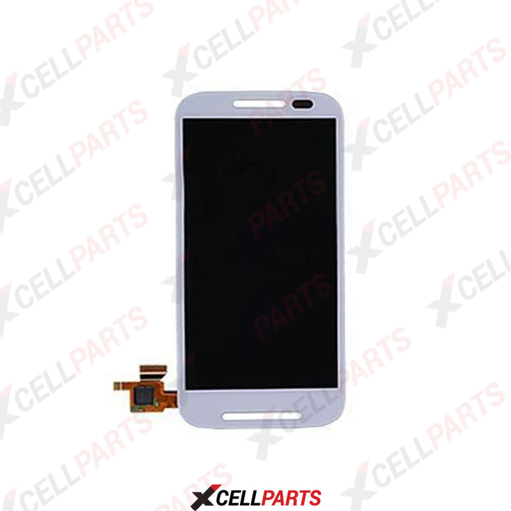 LCD Screen Touch Digitizer With Out Frame For Moto E (XT1021-22-25) (White)