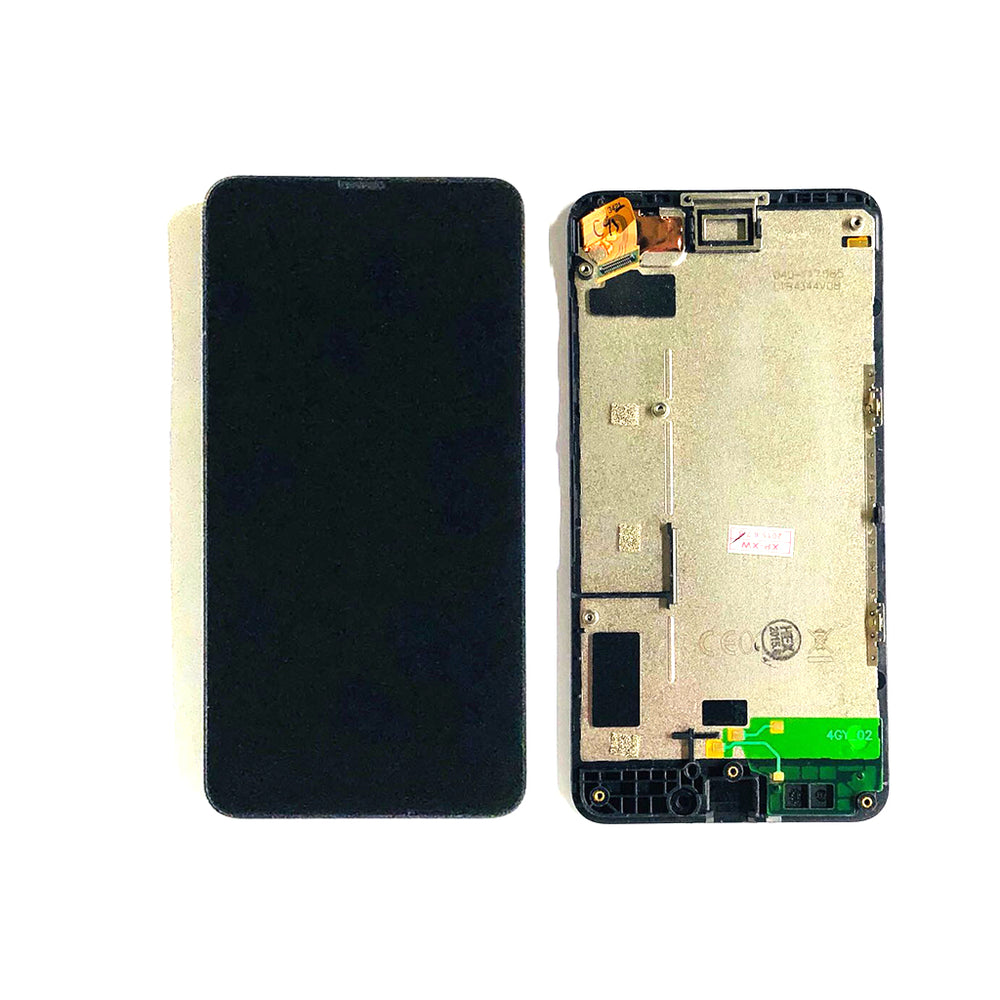 LCD Screen Touch Digitizer With Frame For Nokia Lumia 820 (Black)