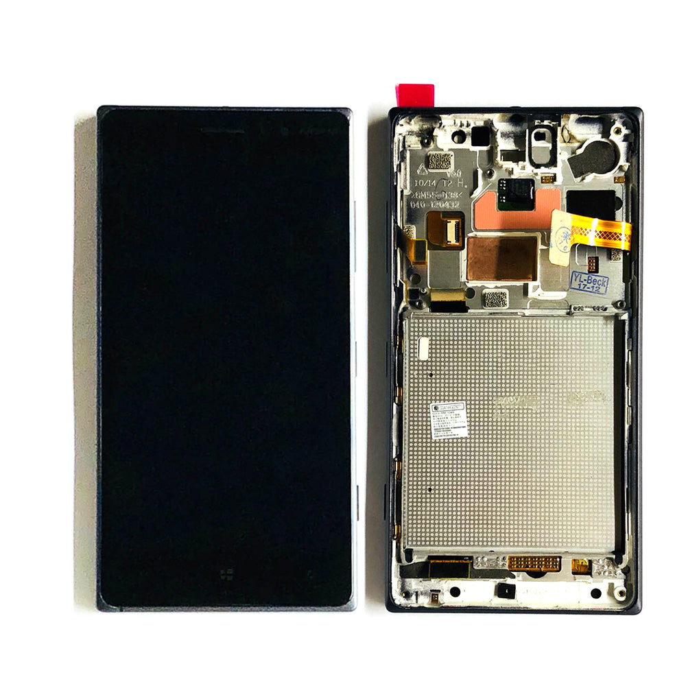 LCD Screen Touch Digitizer With Frame For Nokia Lumia 830 (Black)