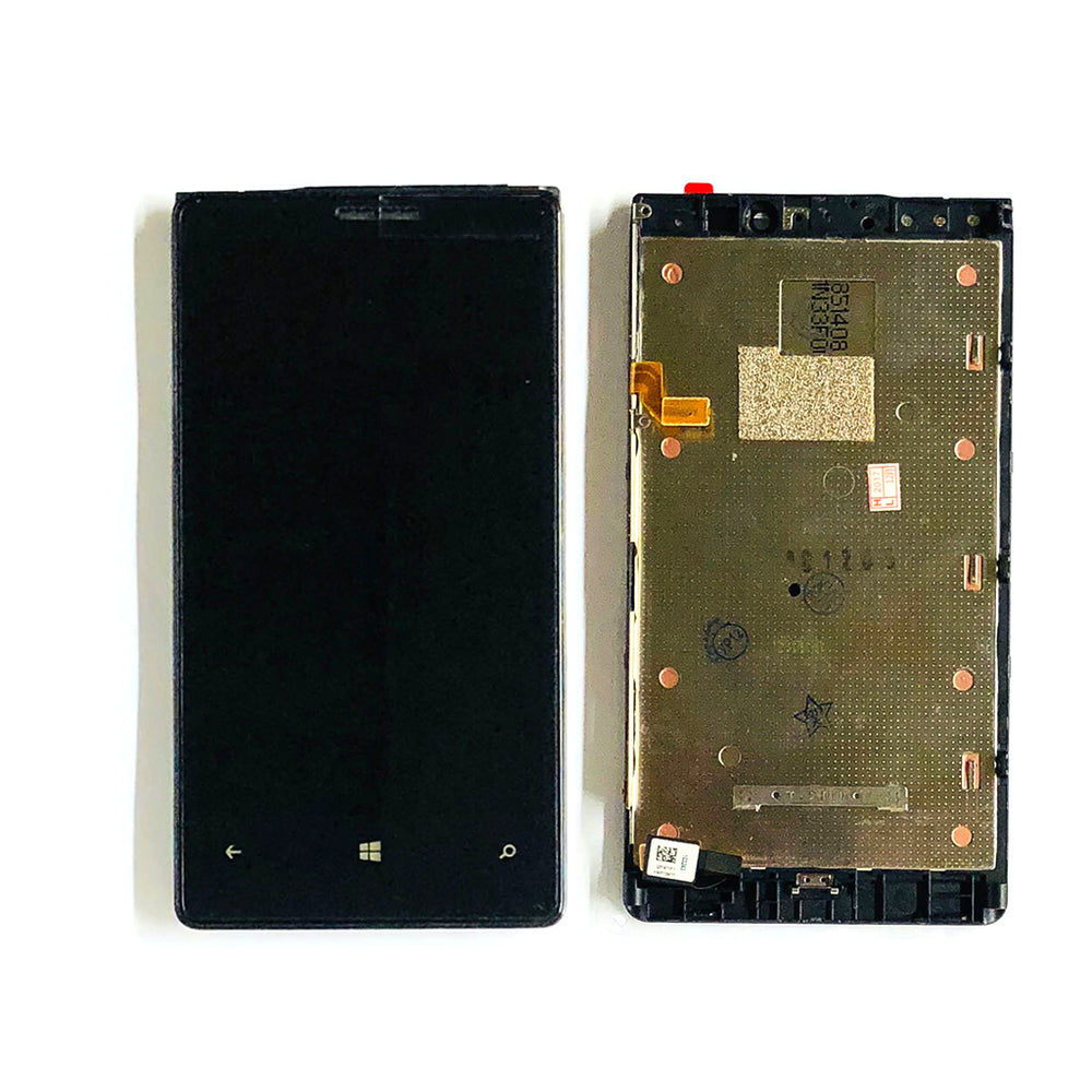 LCD Screen Touch Digitizer With Frame For Nokia Lumia 920 (Black)