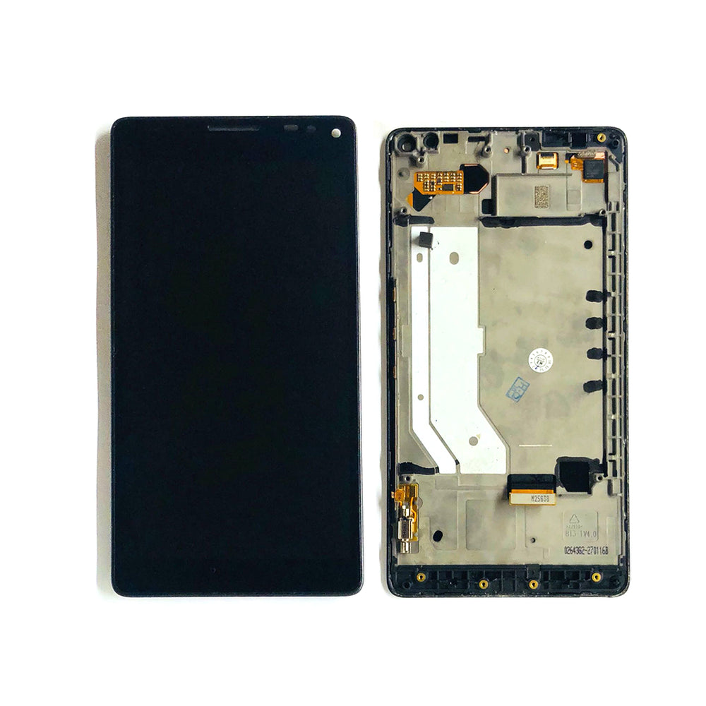 LCD Screen Touch Digitizer With Frame For Nokia Lumia 950 XL (Black)