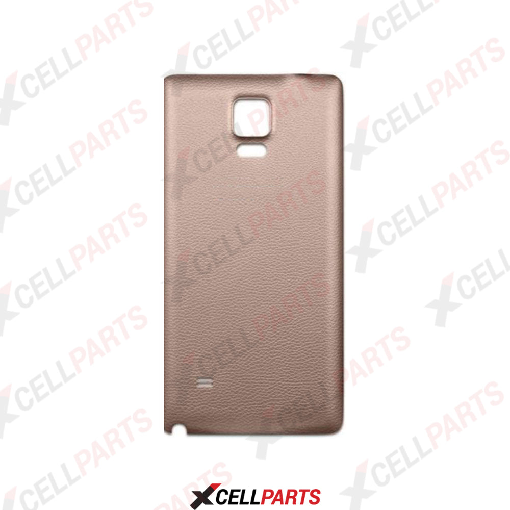 Glass Back Door For Samsung Galaxy Note 4 (Gold)