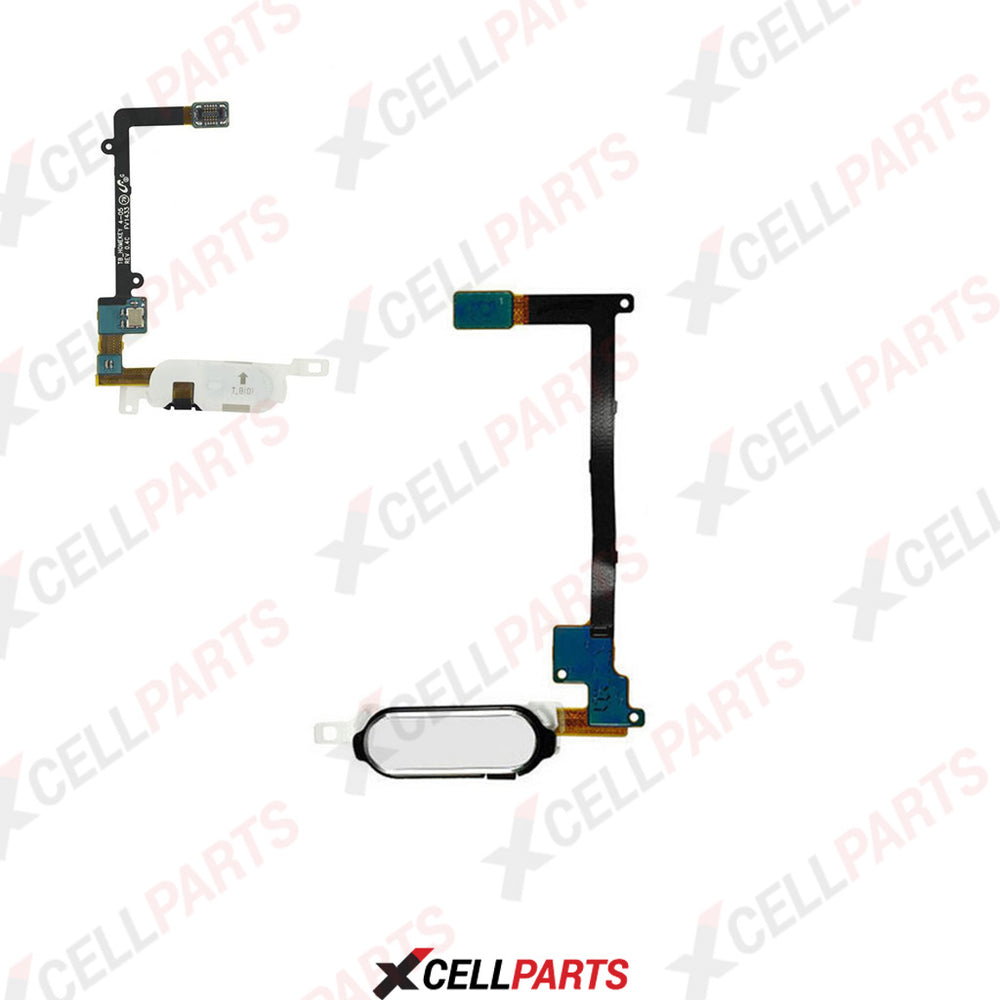 Home Button Flex Cable For Samsung Galaxy Note 4 (White)