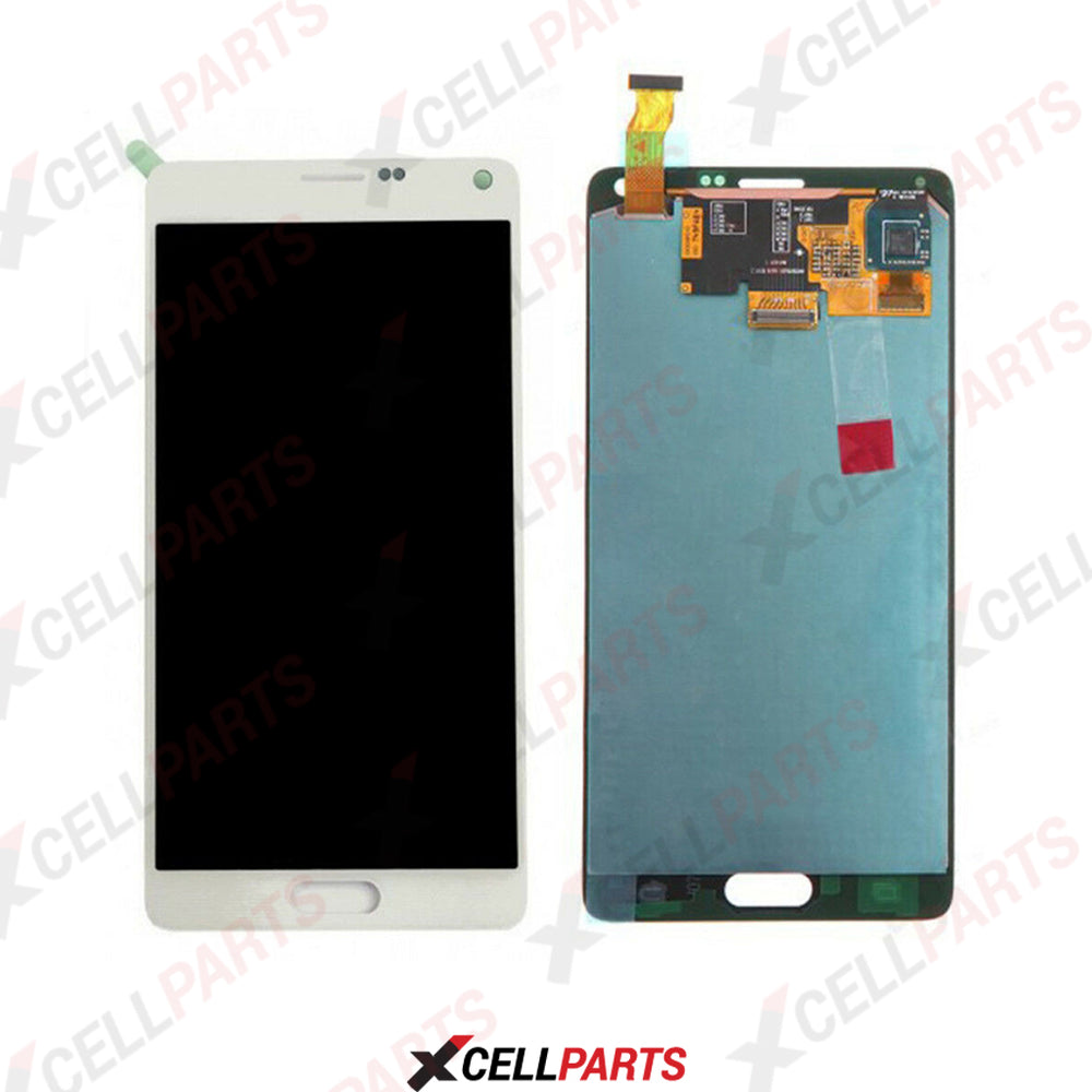 LCD Screen Touch Digitizer With Out Frame For Samaung Galaxy Note 4 (White)