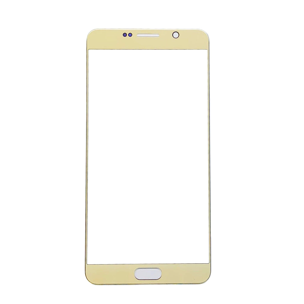 Front Glass Lens For Samsung Galaxy Note 5 (Gold)