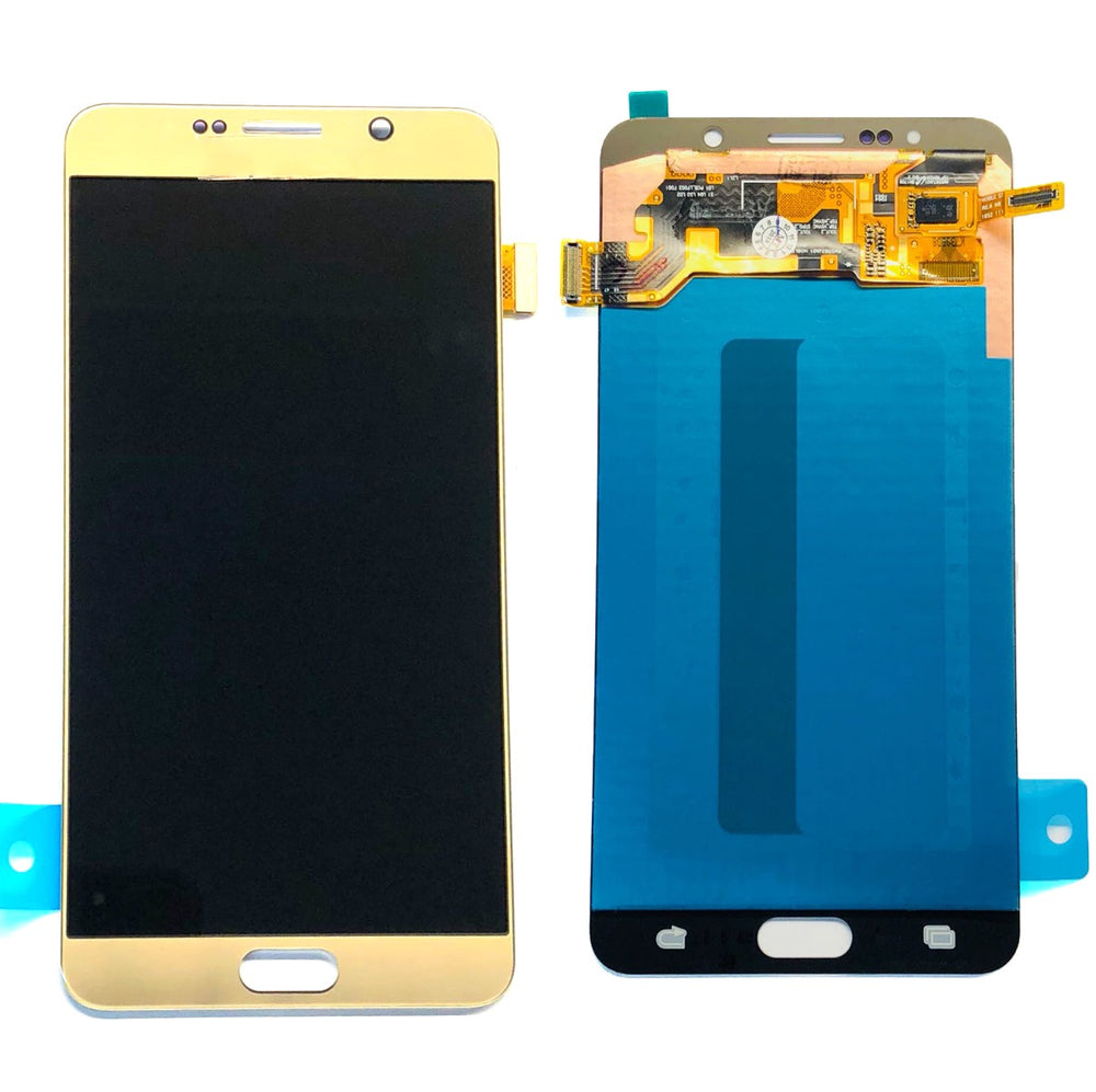 LCD Screen Touch Digitizer With Out Frame For Samsung Galaxy Note 5 (Gold)