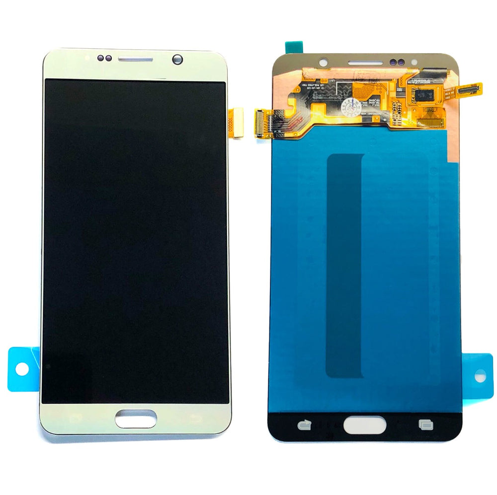 LCD Screen Touch Digitizer With Out Frame For Samsung Galaxy Note 5 (Silver)