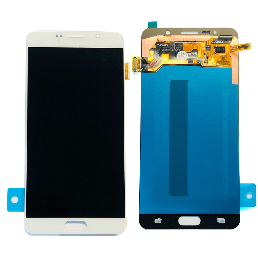 LCD Screen Touch Digitizer With Out Frame For Samsung Galaxy Note 5 (White)