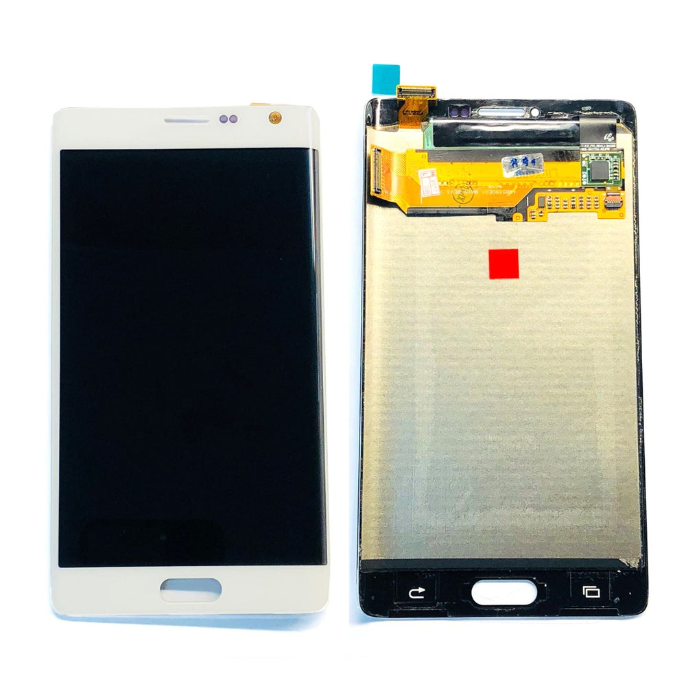 LCD Screen Touch Digitizer With Out Frame For Samsung Galaxy Note Edge (White)