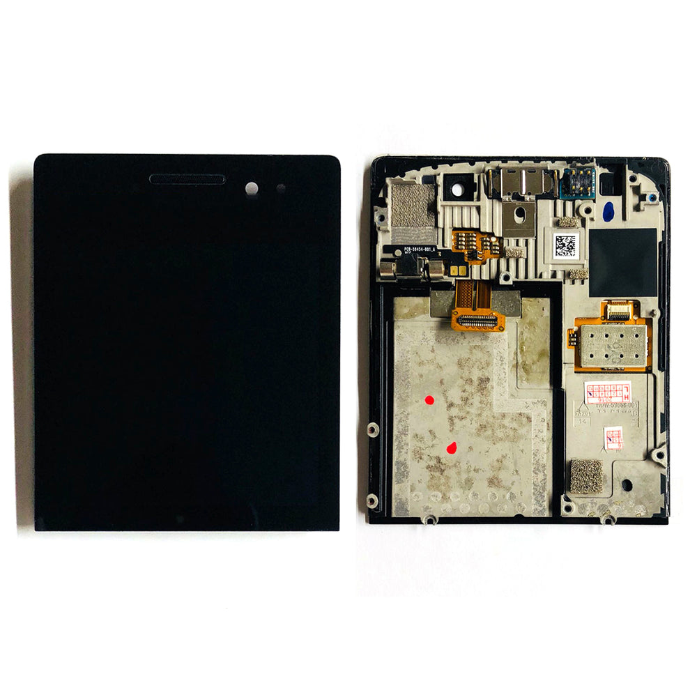 LCD Screen Touch Digitizer With Out Frame For Black Berry Prosche Design (P9983)
