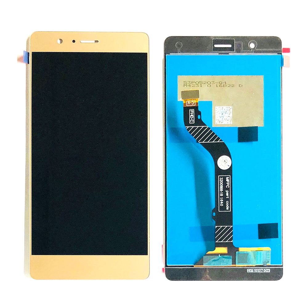 LCD Screen Touch Digitizer With Out Frame For Huawei P9 Lite (Gold)