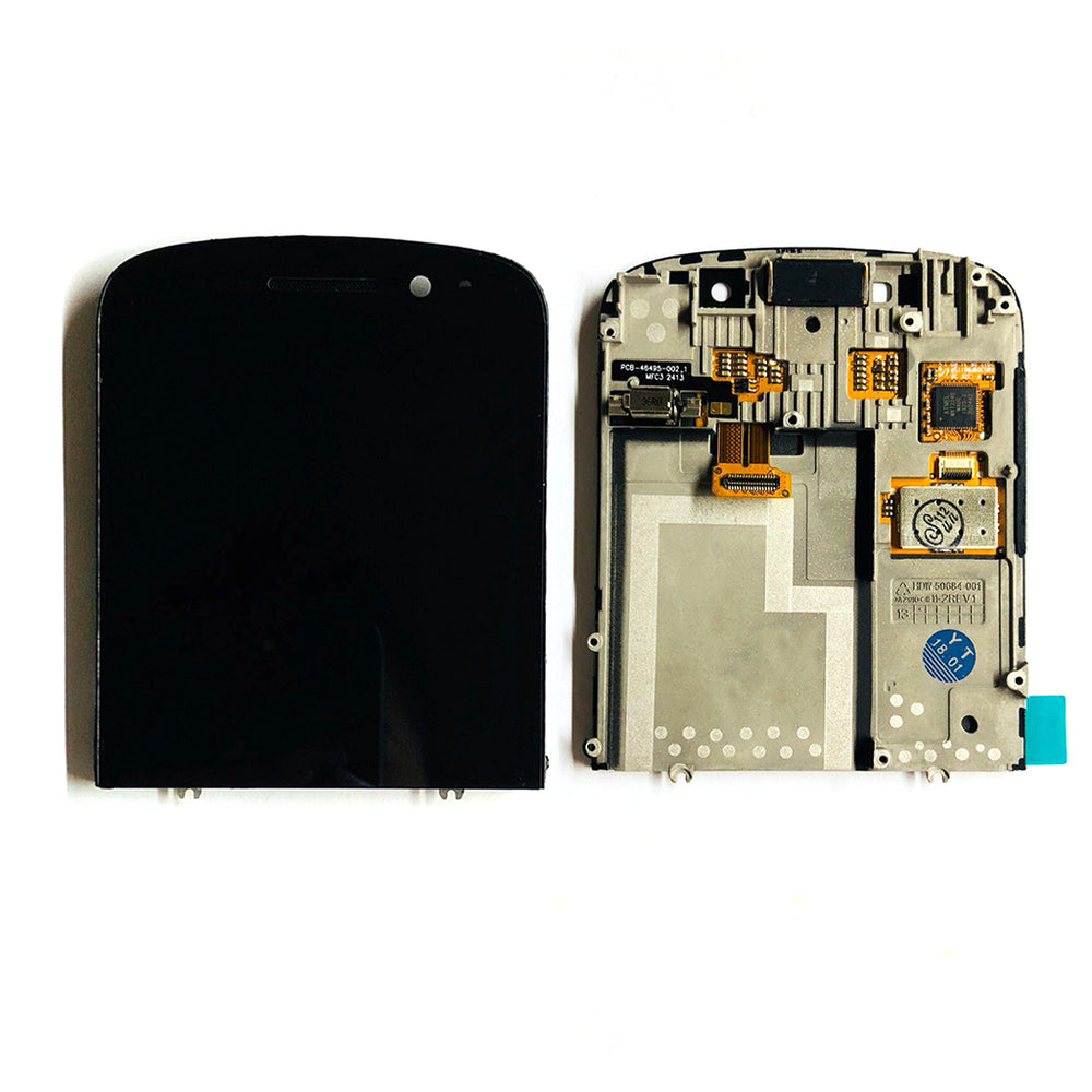 LCD Screen Touch Digitizer with Out Frame For Black Berry Q10 (Black)