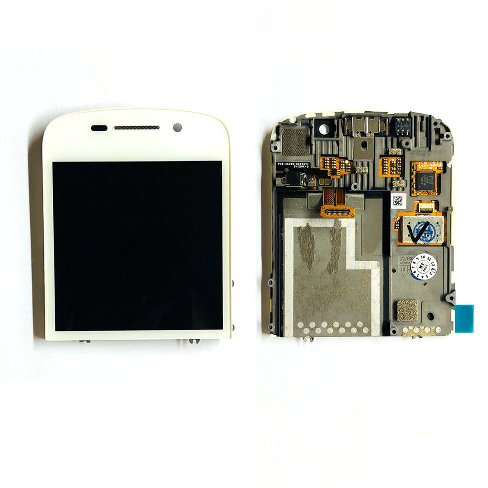 LCD Screen Touch Digitizer With Out Frame For Black Berry  Q10 (White)