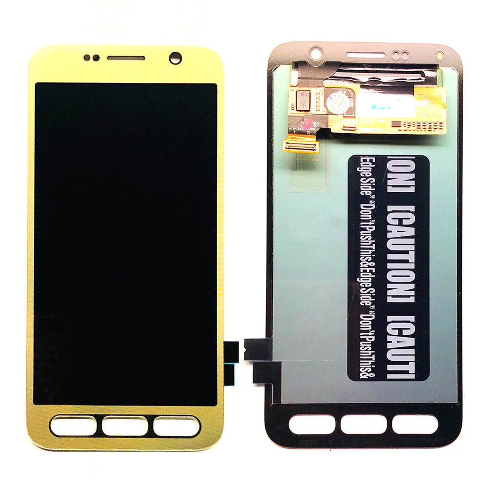 LCD Screen Touch Digitizer With Out Frame For Samsung Galaxy S7 Active (G891) (Gold)