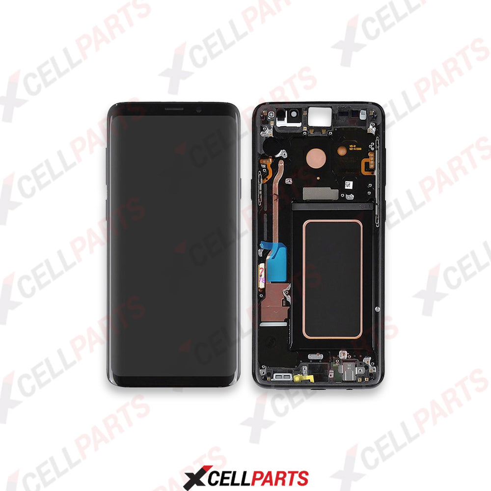 LCD Screen Touch Digitizer With Frame For Samsung Galaxy S9 (Black)