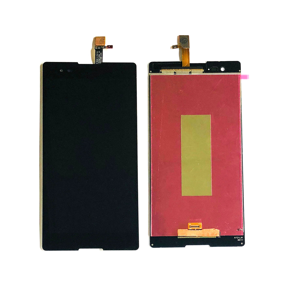 LCD Screen Touch Digitizer With Out Frame Sony Xperia T2 Ultra XM50h (D5303-06-22) (Black)