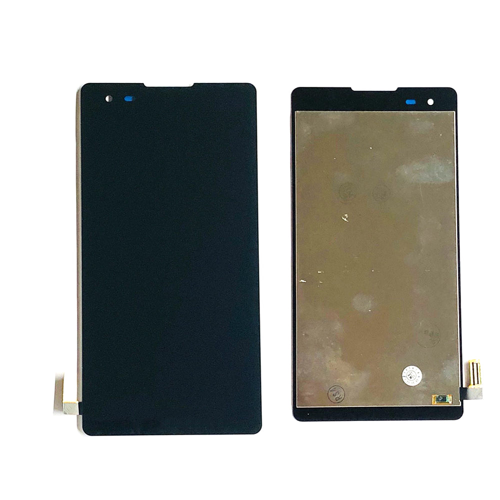 LCD Screen Touch Digitizer With Out Frame For LG HD Tribute (LS676) (Black)