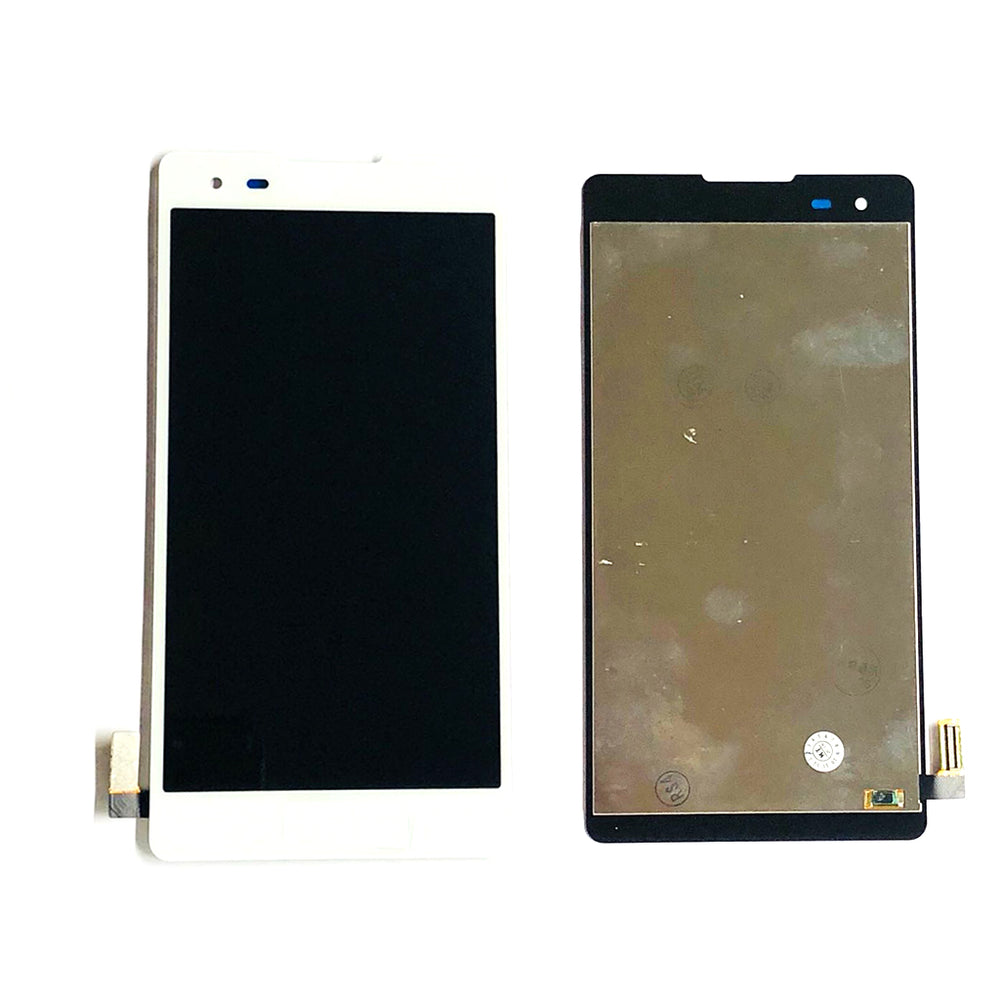 LCD Screen Touch Digitizer With Out Frame For LG Tribute HD (LS676) (White)