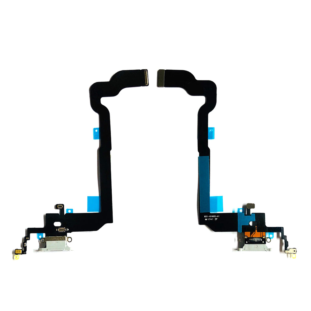 Charging Port Flex Cable For Iphone X (Silver)