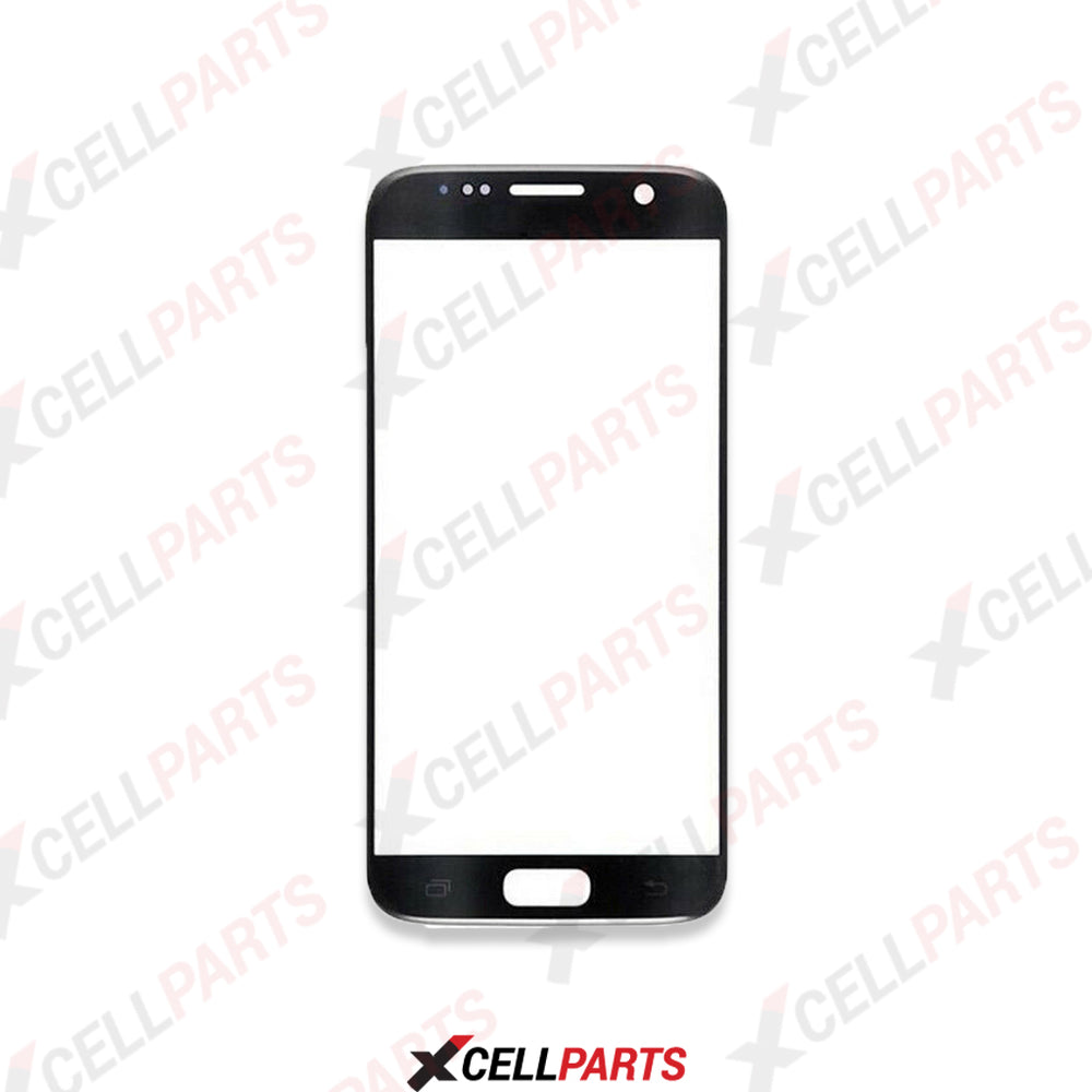 Front Glass For Samsung Galaxy S7 (Black Oynx)
