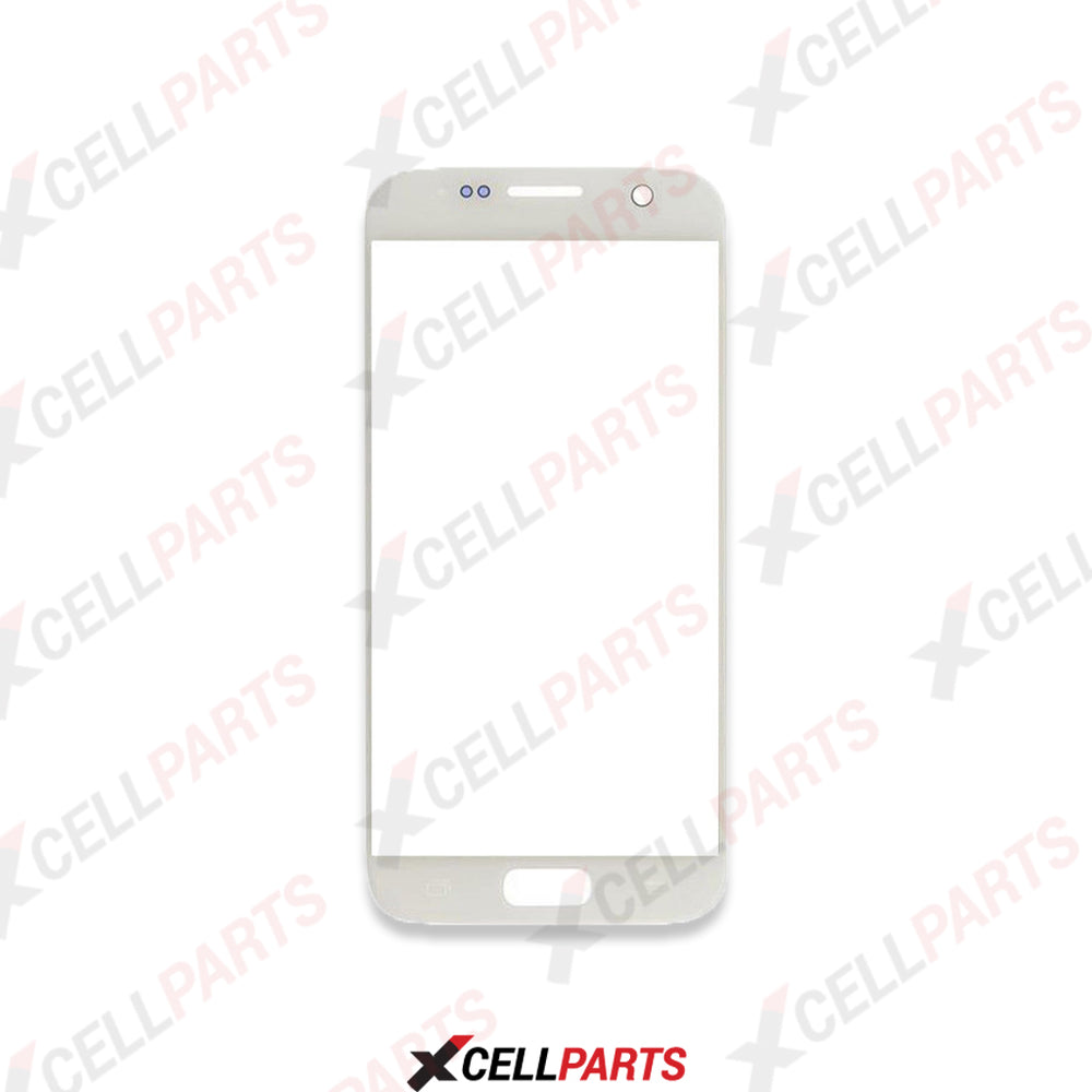 Front Glass For Samsung Galaxy S7 (White Pearl)