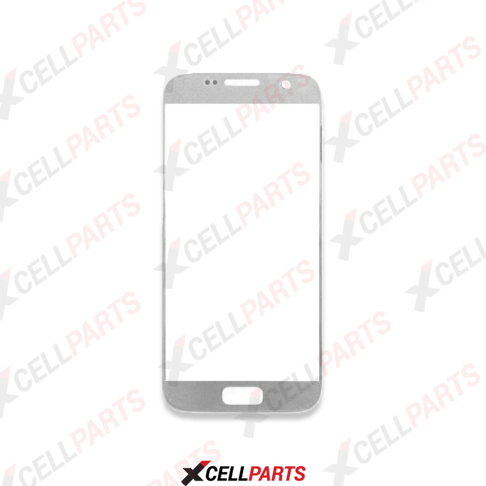 Front Screen Glass Lens For Samsung Galaxy S7 (Silver)