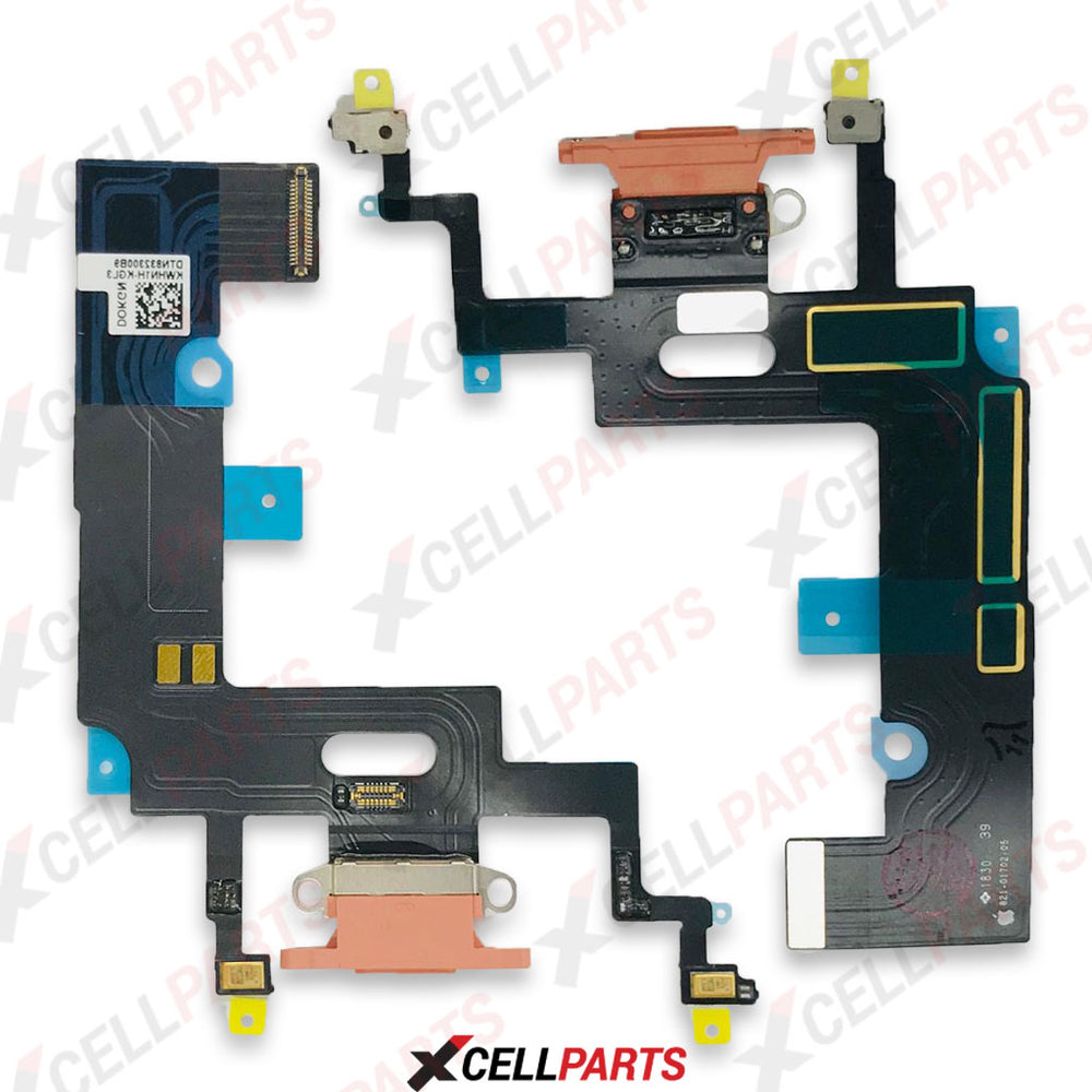 Charging Port Flex Cable For iPhone XR (Orange)