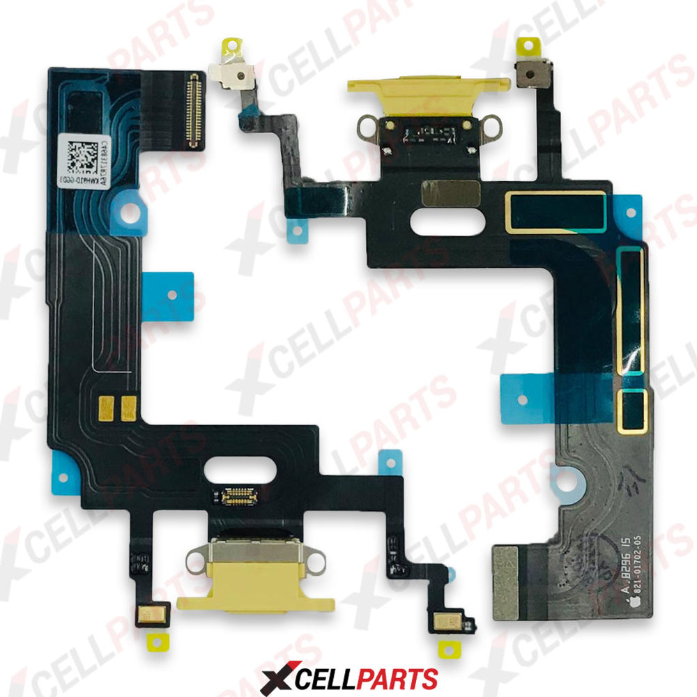 Charging Port Flex Cable For iPhone XR (Yellow)