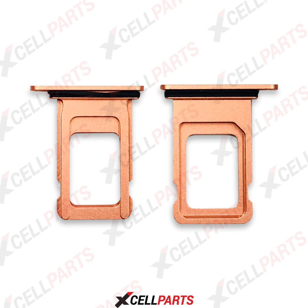 Sim Tray For iPhone XR (Orange)