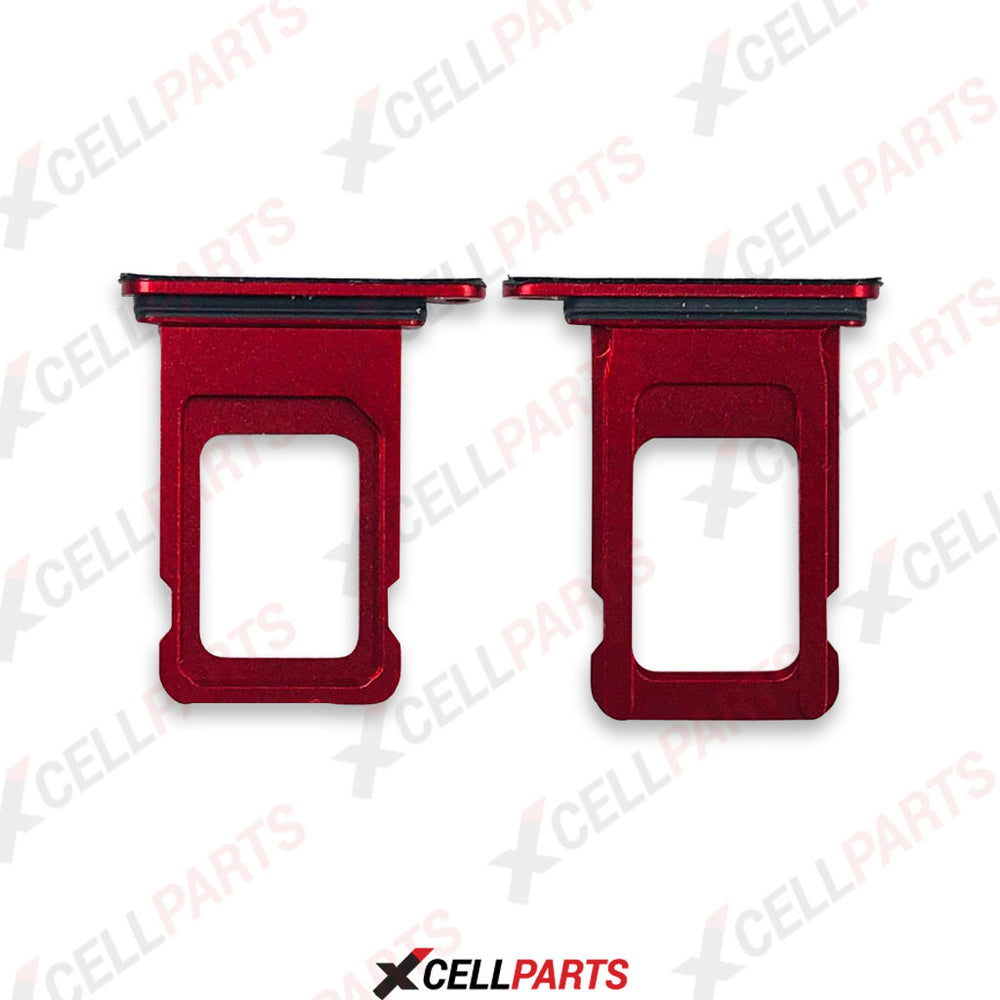 Sim Tray For iPhone XR (Red)