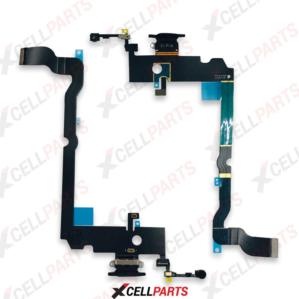 Charging Port Flex Cable For iPhone XS Max (Black)