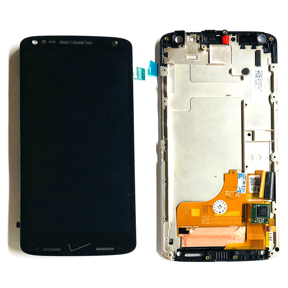 LCD Screen Touch Digitizer With Out Frame For Motorola Turbo 2 (XT1580) (Black)