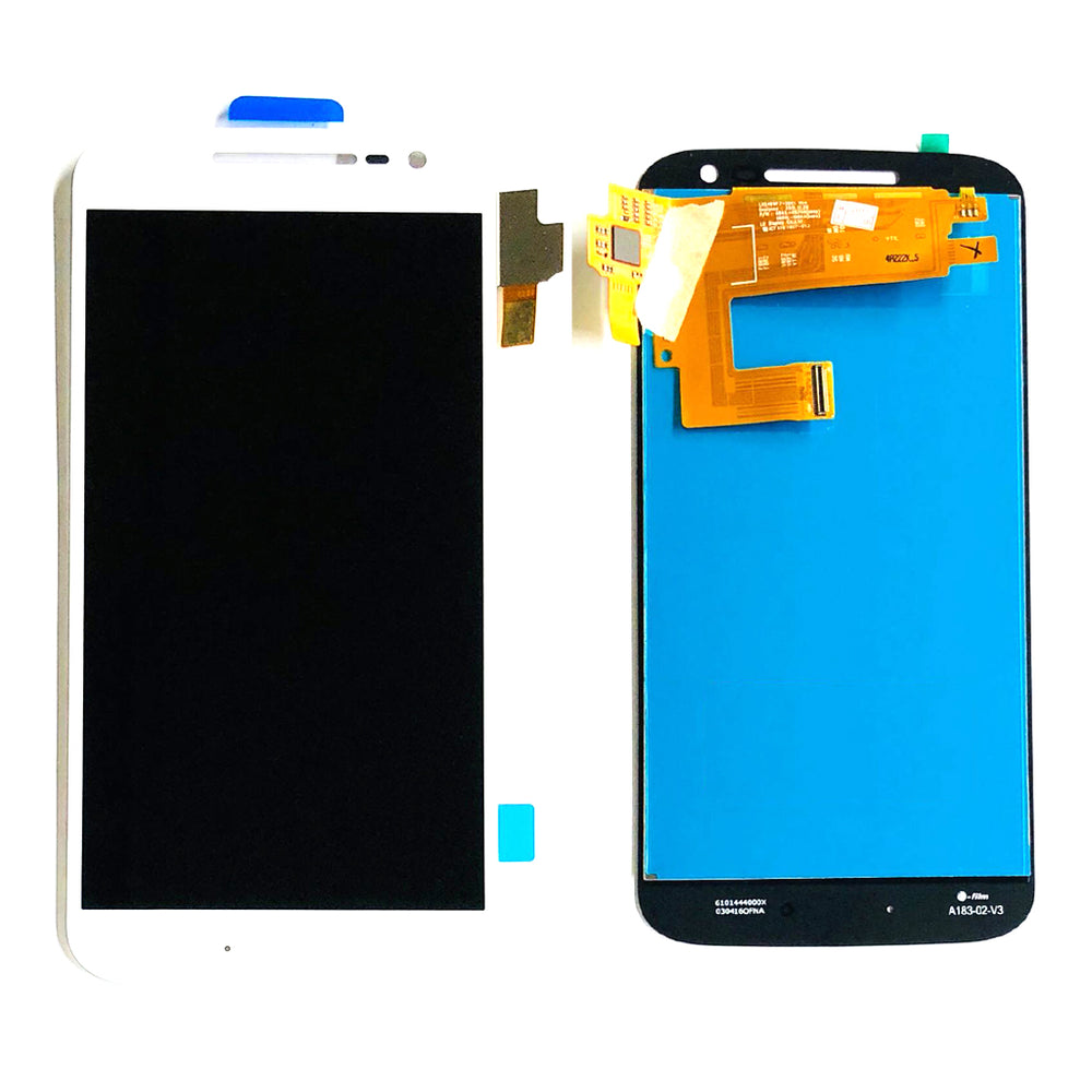 LCD Screen Touch Digitizer With Out Frame For Moto G4 (XT1625) (White)